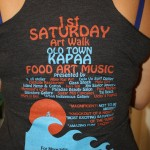 First Saturday t-shirts to benefit the community event